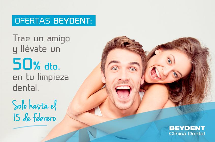 Promo-trae-un-amigo-clinica-dental-madrid-oferta-50-por-ciento-de-descuento-beydent